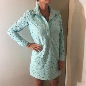 NWOT Diane vonFurstenberg Classy Flower Midi Dress